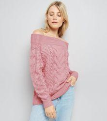 pink-cable-knit-bardot-neck-jumper