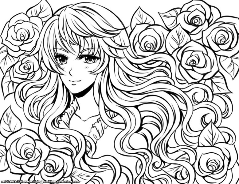 anime-printable-coloring-pages