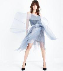 grey-metallic-star-mesh-hanky-hem-midi-skirt